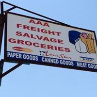 AAA Freight Salvage Groceries